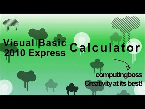 Visual Studio 2010 - Calculator