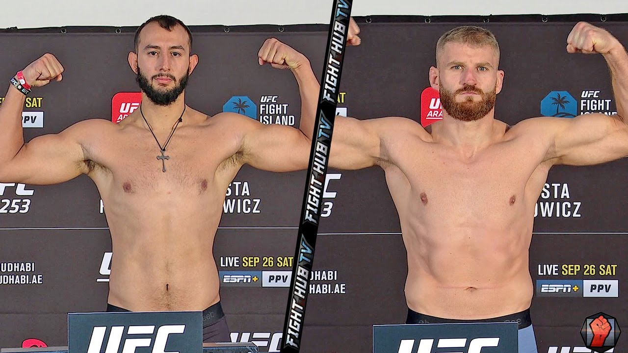 DOMINICK REYES VS JAN BLACHOWICZ - FULL WEIGH IN & FACE OFF VIDEO