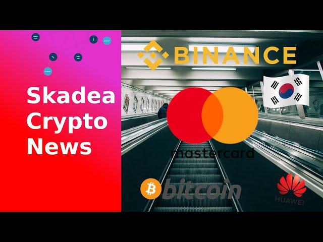 Skadea Crypto News EP02 Mastercard, Binance Ermittlungen, Korea Blockchain, US Wahl Bitcoin