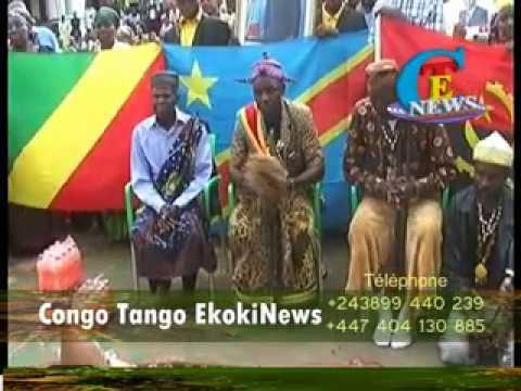 LES CHEFS COUTUMIERS ROI KONGO D'ANGOLA SONT VENUES DEMANDE PARDON A SA DIVINITÉ SKK
