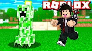 LOKIS JOGANDO MINECRAFT NO ROBLOX | Roblox - Minecraft