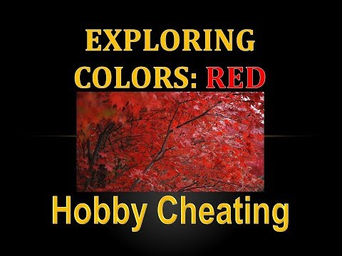 Hobby Cheating 214 - Exploring Colors - Red indir