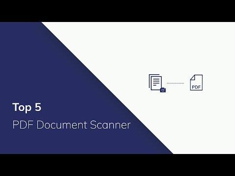 Top 5 PDF Document Scanner 2019