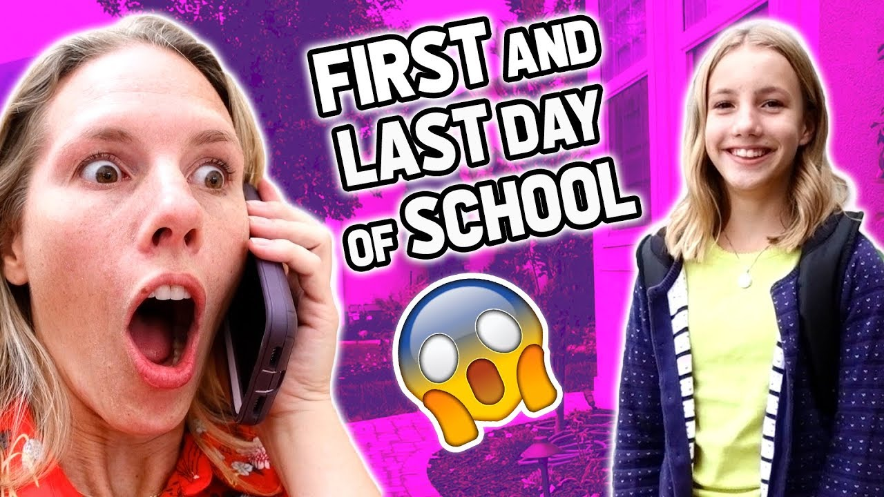 Surprise First And Last Day Of School