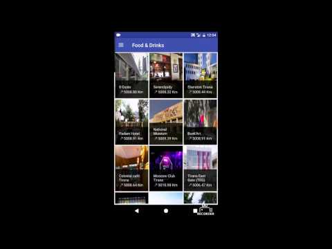 Android - City Tourist Guide