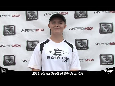2019 Kayla Scott Pitcher Softball Skills Video - Easton Elite