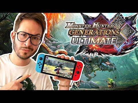 Monster Hunter Generations Ultimate SWITCH à la hauteur ? AVIS + GAMEPLAY