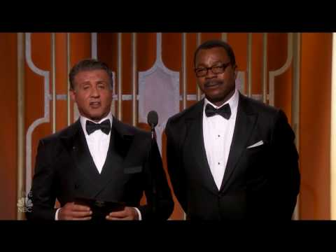 Thumbnail: Sylvester Stallone And Carl Weathers Rocky And Apollo The Golden Globes 2017