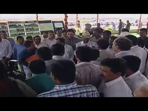 CM Sri KCR visit to Medigadda Laxmi Barrage | Kaleshwaram Project