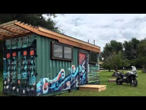 Rhino Cubed Nola Shipping Container Tiny House YouTube