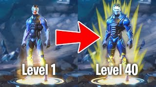 FORTNITE SEASON 4 SKINS, SECRETS & UPGRADES!! (Fortnite Battle Royale)