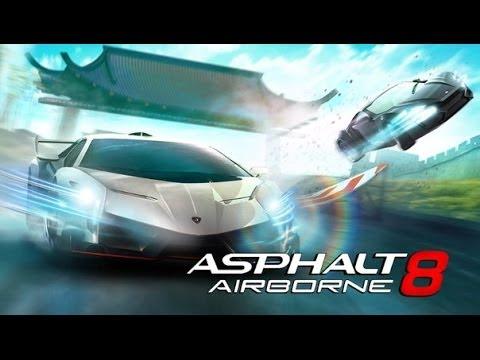 Asphalt 8 Airborn играем на ПК