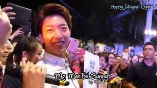 [KCBlue] 130912 SG Fans singing Happy Birthday song to Bunny Lee Jungshin
