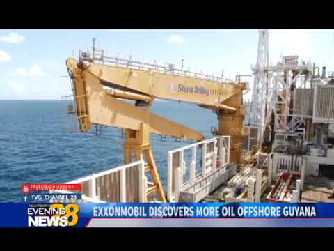 EXXONMOBIL DISCOVERS MORE OIL OFFSHORE GUYANA 8 30 2018