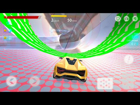 Stunt Car X | Android Stunts Car Gameplay | Game Mobil Balap