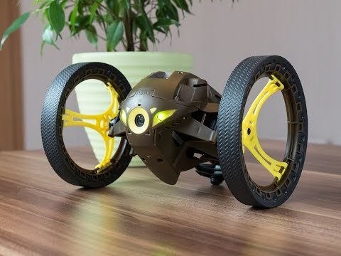 parrot jumping sumo minidrone drohne test deutsch in. Black Bedroom Furniture Sets. Home Design Ideas