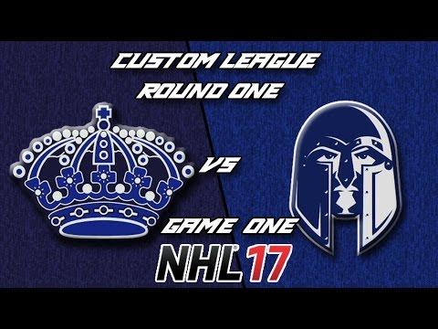 NHL 17 - Custom League - Philadelphia @ Washington Round 1 Game 1