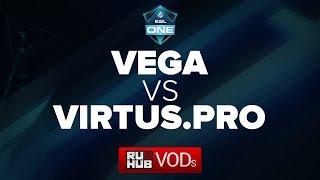Vega -vs- Virtus.Pro, ESL One Frankfurt 2016 EU Quals, 1st Final, game 4