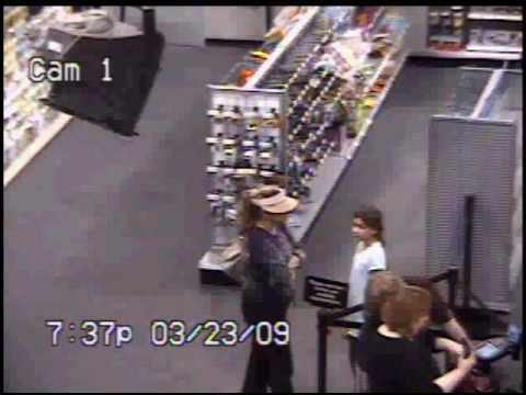 Security video from best buy robbery youtube for Best buy burglar alarms