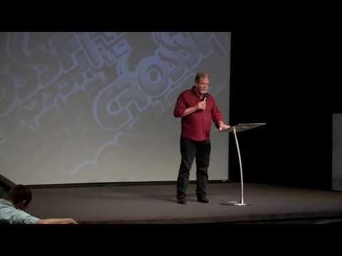 """Steve Johnson Speaks at Crossfire Ministries, sings """"Because of Whose I Am"""""""