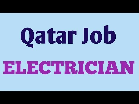 Qatar Electrician Job For Indians
