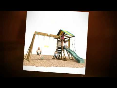 Wood Swing Set Plans -- The Best Selection Of Swing Sets