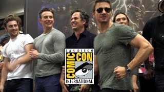 Comic Con 2014: Avengers 2: Age of Ultron Cast Signing (2014) Marvel Movie HD