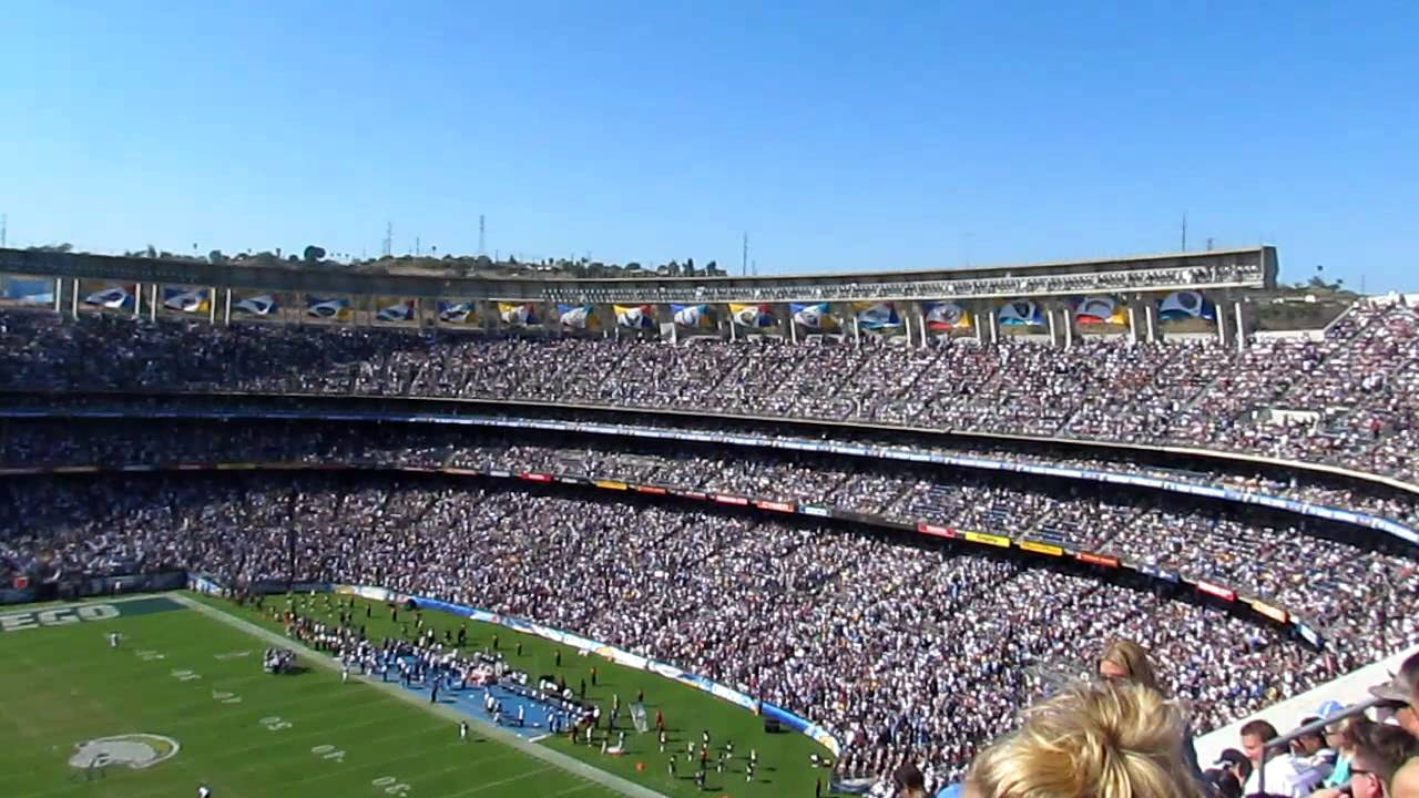 Quot San Diego Super Chargers Quot As Heard From Qualcomm Stadium