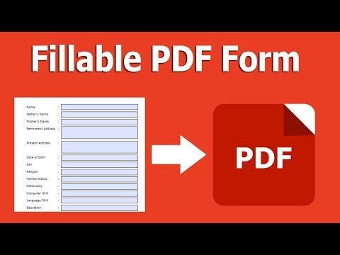 How To Create A Fillable PDF From Existing Document In Adobe Acrobat Pro