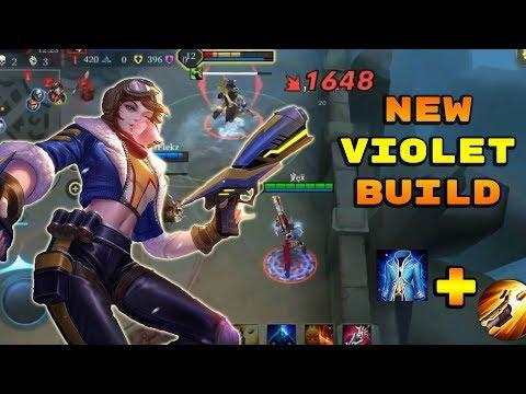NEW OP FROST CAPE BUILD! - Arena of Valor Violet Gameplay #2