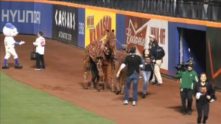 WAR HORSE goes to a Mets game for Hooves on First