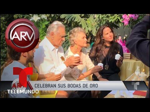 Kate del Castillo celebró las bodas de oro de sus padres | Al Rojo Vivo | Telemundo