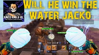 WILL HE WIN THE WATER JACKO GIVEAWAY FORTNITE SAVE THE WORLD