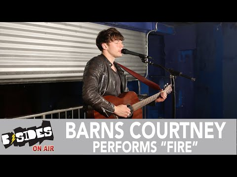"""B-Sides On-Air: Barns Courtney Performs """"Fire"""""""