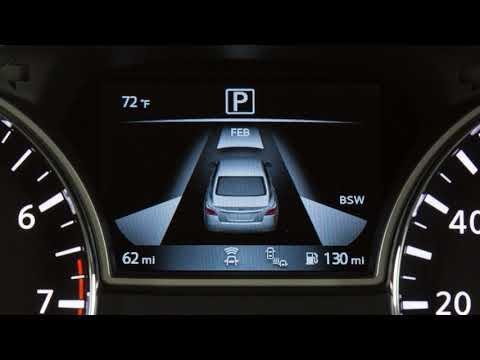2018 Nissan Altima - Vehicle Information Display