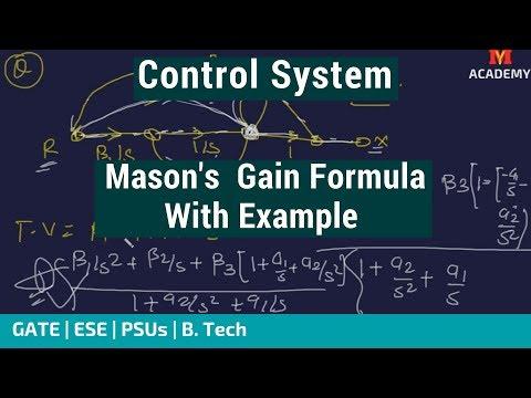 Mason's Gain Formula   Flow Graph