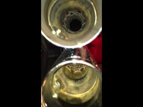 How to remove a baffle