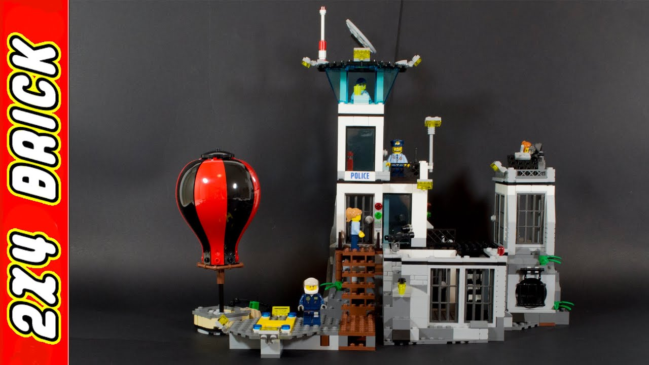 Lego City Prison Island 60130 Youtube