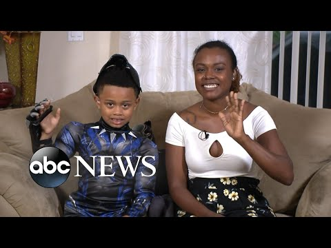 Meet the 7-year-old who nailed the viral M'Baku challenge