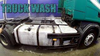 Scania na myjni