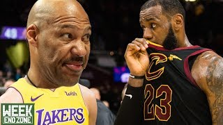 Lavar Ball SABOTAGED Lebron James Coming To LA! Sports Weekend Roundup! | Weekend Zone