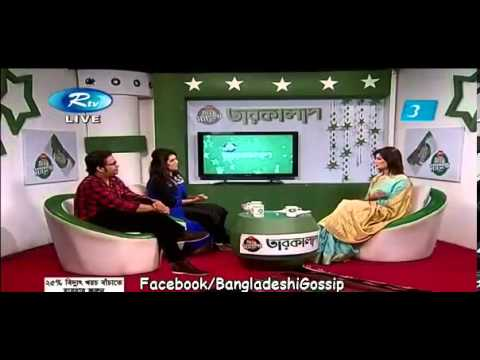 Bangla Celebrity Program 2013   Tarokalap HQ Guest  Puja & Ali Aftab