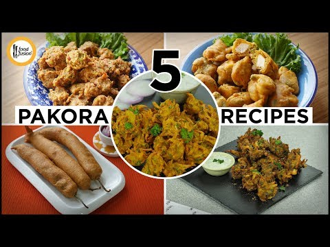 5 Pakora Recipes by Food Fusion (Ramzan Special Recipes)