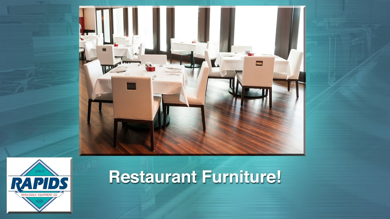 Restaurant Furniture And Supplies From RapidsWholesale.com   YouTube