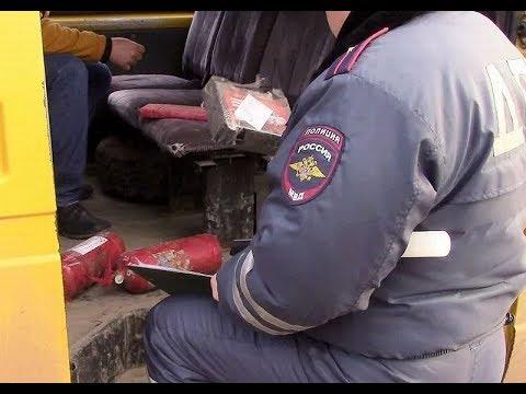 Водитель маршрутки в Невинномысске удивил даже видавших виды автоинспекторов