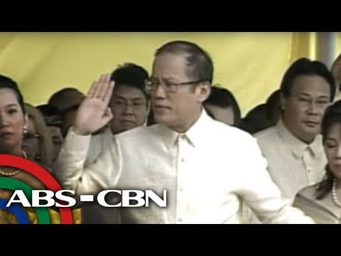Aquino takes oath as 15th President of the Republic of the P