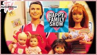 Haunted Cabin! -  AwesomenessTV Network Presents HappyFamilyShow