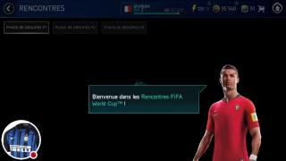 Ma diffusion FIFA Mobile Coupe du Monde 2018
