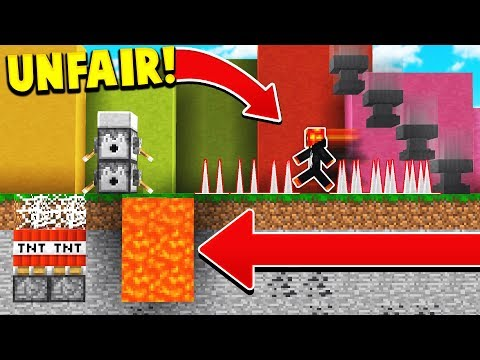Thumbnail: IF MINECRAFT WAS IMPOSSIBLE! (Unfair Minecraft)