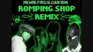 Romping Shop MIX - Vybz Kartel Ft Spice & Neyo & Busy Signal MIXED By Jaman